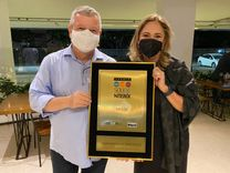 Anamaria Schneider, diretora-geral da FeSaúde, é a grande vencedora do prêmio Sou de Niterói do jornal O Globo